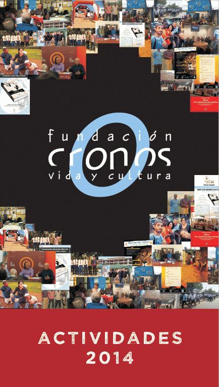 Dossier actividades 2014 Fundación Cronos